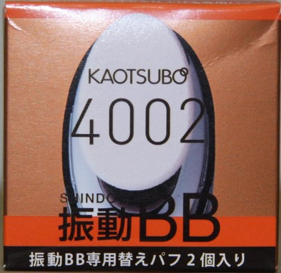 五十寓話視力4002 振動BB 専用パフ (交換用2個)