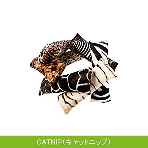 ルークラン 4CATS ハーブ入り猫用おもちゃ プレイロール 柄ランダム  キャットニップ
