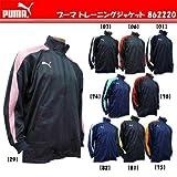 PUMA プーマ サッカー・フットサル トレーニングジャケット 862220 チャコール/ゼラニウムP M