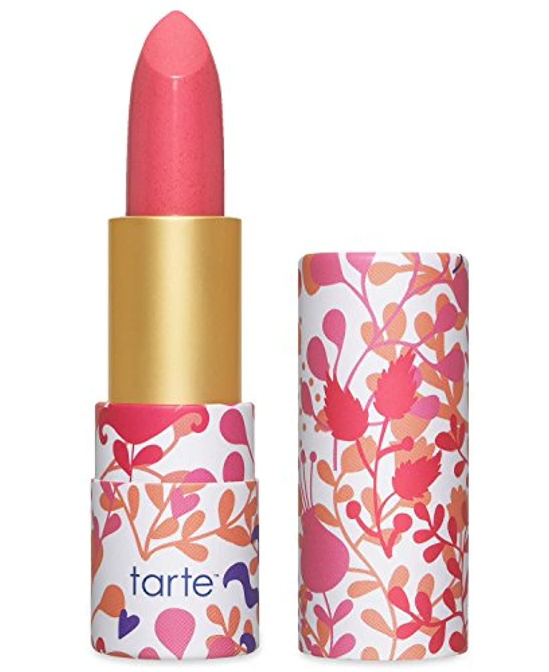 適応まともな心配Tarte Amazonian Butter Lipstick ターテ アマゾニアン バターリップステック Pink Peony [並行輸入品]
