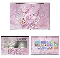 Decalrus - Protective Decal Heart Skin Sticker for HP ENVY 17M AE011DX (17.3 Screen) case cover wrap HPenvy17_ae011dx-44