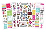 Bloom Daily Planners Classic Planner Sticker Sheets - Variety Sticker Pack - Over 300 Stickers Per Pack! 【Creative Arts】 [並行輸入品]