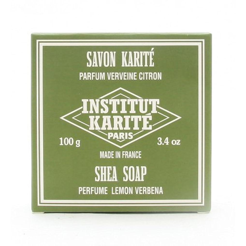 内部バッテリーインフラINSTITUT KARITE インスティテュート カリテ 25% Extra Gentle Soap ジェントルソープ 100g Lemon Vervenaレモンバーベナ