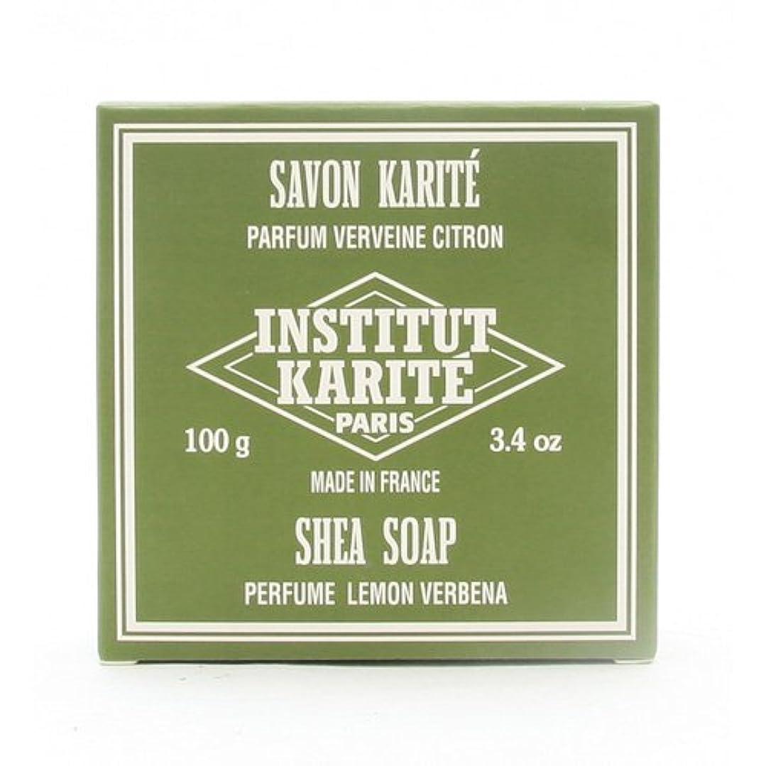 駐地魅力的であることへのアピール呪いINSTITUT KARITE インスティテュート カリテ 25% Extra Gentle Soap ジェントルソープ 100g Lemon Vervenaレモンバーベナ