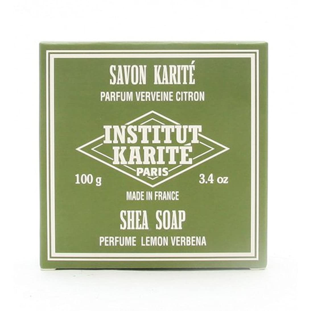 スマート強打ぼかしINSTITUT KARITE インスティテュート カリテ 25% Extra Gentle Soap ジェントルソープ 100g Lemon Vervenaレモンバーベナ