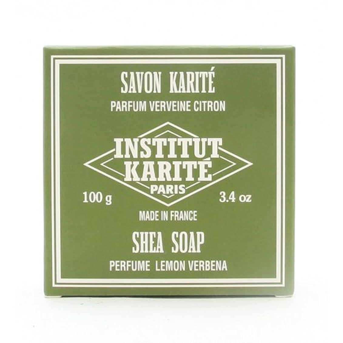 解説最適芸術的INSTITUT KARITE インスティテュート カリテ 25% Extra Gentle Soap ジェントルソープ 100g Lemon Vervenaレモンバーベナ