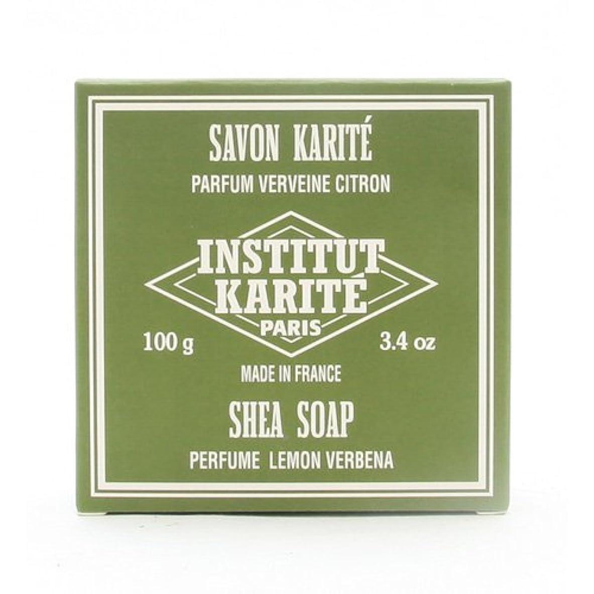 代替毎日増幅器INSTITUT KARITE インスティテュート カリテ 25% Extra Gentle Soap ジェントルソープ 100g Lemon Vervenaレモンバーベナ