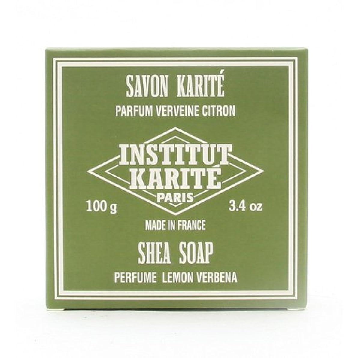 かび臭い十年滴下INSTITUT KARITE インスティテュート カリテ 25% Extra Gentle Soap ジェントルソープ 100g Lemon Vervenaレモンバーベナ