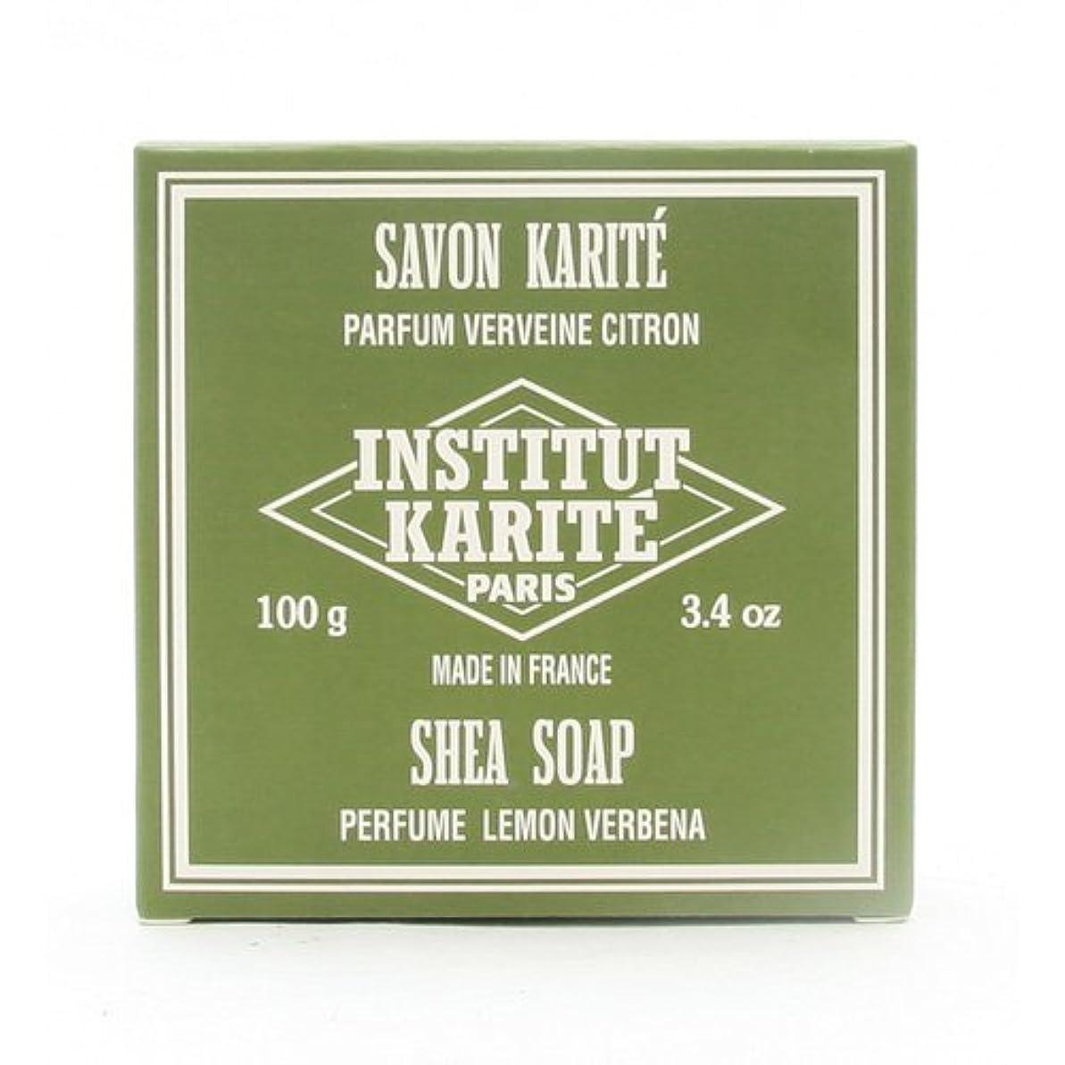 苦難閉塞赤外線INSTITUT KARITE インスティテュート カリテ 25% Extra Gentle Soap ジェントルソープ 100g Lemon Vervenaレモンバーベナ