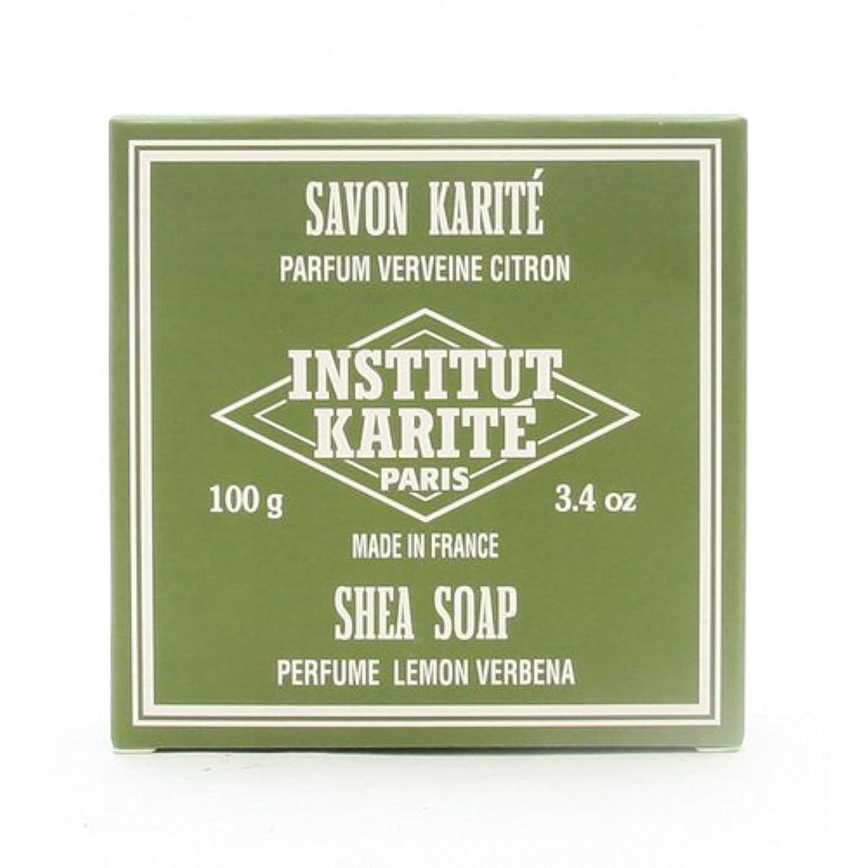 有用ゲスト疑い者INSTITUT KARITE インスティテュート カリテ 25% Extra Gentle Soap ジェントルソープ 100g Lemon Vervenaレモンバーベナ