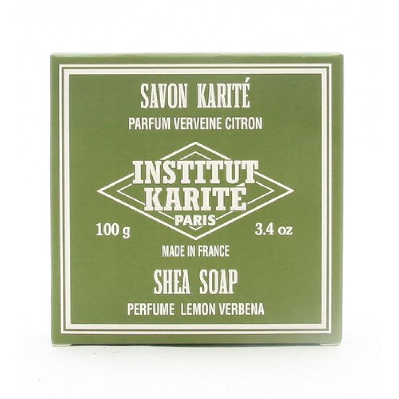 定期的ゼロ共和党INSTITUT KARITE インスティテュート カリテ 25% Extra Gentle Soap ジェントルソープ 100g Lemon Vervenaレモンバーベナ