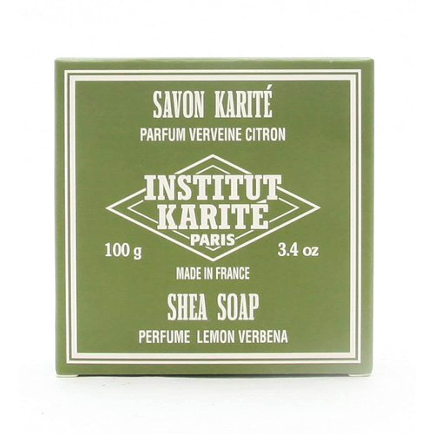反対恐れ誕生日INSTITUT KARITE インスティテュート カリテ 25% Extra Gentle Soap ジェントルソープ 100g Lemon Vervenaレモンバーベナ