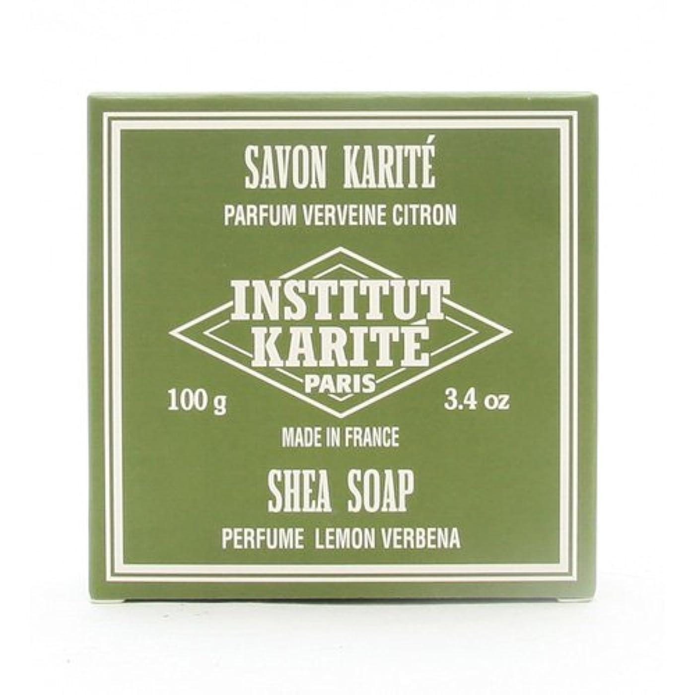 休憩アイドル空のINSTITUT KARITE インスティテュート カリテ 25% Extra Gentle Soap ジェントルソープ 100g Lemon Vervenaレモンバーベナ