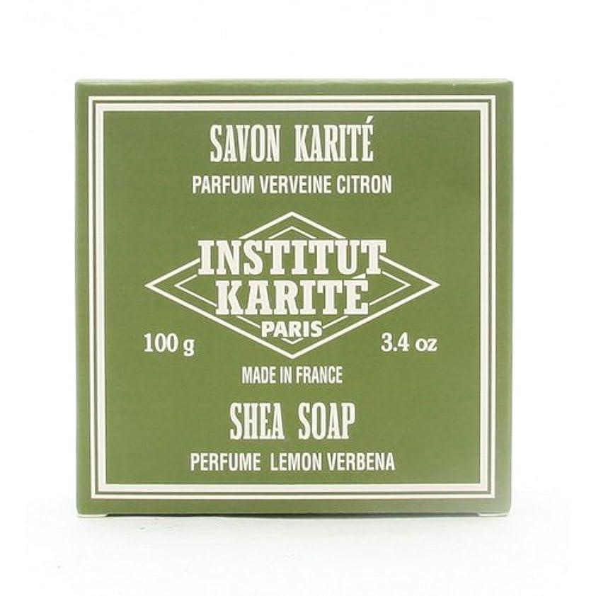 トイレ性能男やもめINSTITUT KARITE インスティテュート カリテ 25% Extra Gentle Soap ジェントルソープ 100g Lemon Vervenaレモンバーベナ