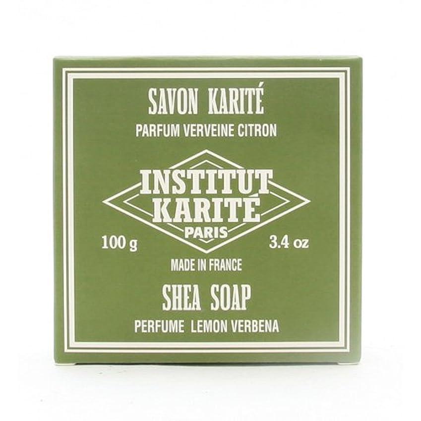 講堂爆発物弁護士INSTITUT KARITE インスティテュート カリテ 25% Extra Gentle Soap ジェントルソープ 100g Lemon Vervenaレモンバーベナ
