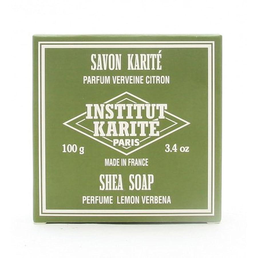 スカートカフェ構成INSTITUT KARITE インスティテュート カリテ 25% Extra Gentle Soap ジェントルソープ 100g Lemon Vervenaレモンバーベナ