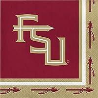 "Florida State Seminolesパーティーバンドル9""プレート(60)"