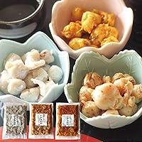 珍味 味付 いかとんび 3種 合計450g ( 塩麹 和風一味 カレー )福島町 ヤマキュウ西川水産