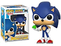 Pop! Games: Sonic the Hedgehog - Sonic (With Emerald) (製造元:Funko) [並行輸入品]