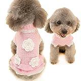 Ninkipet(ニンキペット)ベット服犬用冬 犬の服 クリスマス かわいい犬のセーター ドッグウェアベット 秋冬衣装 コスチューム 仮装 (M)