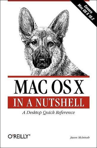 Mac OS X in a Nutshell