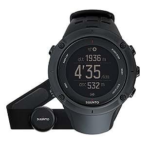 SUUNTO(スント) ランニング 登山用GPS AMBIT3 PEAK HR ブラック Bluetooth対応 心拍ベルト付き【日本正規品】 SS020674000