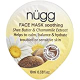 Nugg Soothing Face Mask (Pack of 6) - なだめるようなフェイスマスク x6 [並行輸入品]