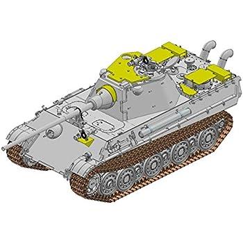 プラッツ 1/35 ドイツ軍 パンターF型 対空増加装甲タイプ w/赤外線暗視装置 & ドイツ軍 パンターF型用エッチングパーツ プラモデル DR6917SP
