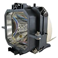 Electrified elplp18-e2-ele2用交換ランプハウジングfor Epson emp735プロジェクタ
