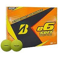 ブリヂストンゴルフボール、高パフォーマンスe6ゴルフボールソフト、ダースイエロー