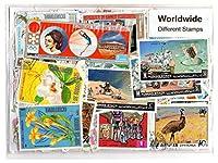 コレクターのための世界3000個の異なる世界的な切手コレクションの混合パケットスタンプ