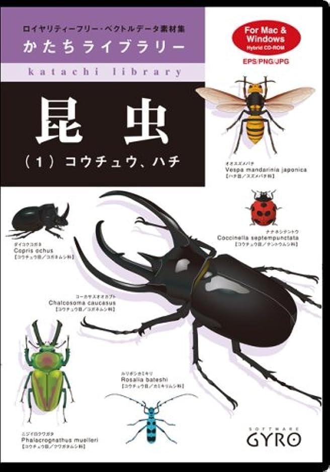 梨丈夫不従順昆虫(1) コウチュウ?ハチ