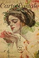 Lady With Flower (Carte Postale - Parisian Missives)