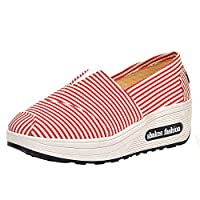 [Creazrise Womens Shoes] レディース US サイズ: 36 M EU カラー: レッド