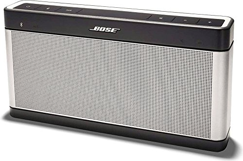 Bose SoundLink Bluetooth speaker III ポータブルワイヤレススピーカー シルバー【国内正規品】