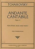 TCHAIKOVSKY - Andante Cantabile Op.11 para Contrabajo y Piano (Zimmermann)