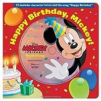 Happy Birthday, Mickey! Read-Along Storybook & CD (Read-Along Storybook and CD)