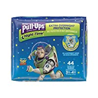 Pull-Ups Night-Time Training Pants for Boys, 3T-4T, 44 Count by Pull-Ups