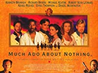 Much Ado About Nothing Dムービーポスター11 x 17ケネス・ブラナーエマ・トンプソンKeanu Reeves Unframed 350461