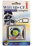 Wifi SD対応 SD カードからCF TYPE I への変換アダプター 海外パッケージ品