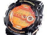 Casio カシオ GD100HC-1 Mens G-Shock Gショック Super LED XL Black and オレンジ Multi-Function デジタルウォッチ 男性用 メンズ 腕時計 (並行輸入)