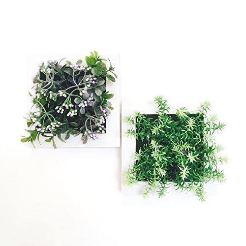 SPACE158 観葉植物 壁掛け インテリア 3D アート フェイクグリーン
