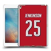 オフィシャル Arsenal FC Carl Jenkinson 2017/18 プレイヤーズ・ホームキット グループ 2 iPad Pro 9.7 (2016) 専用ハードバックケース