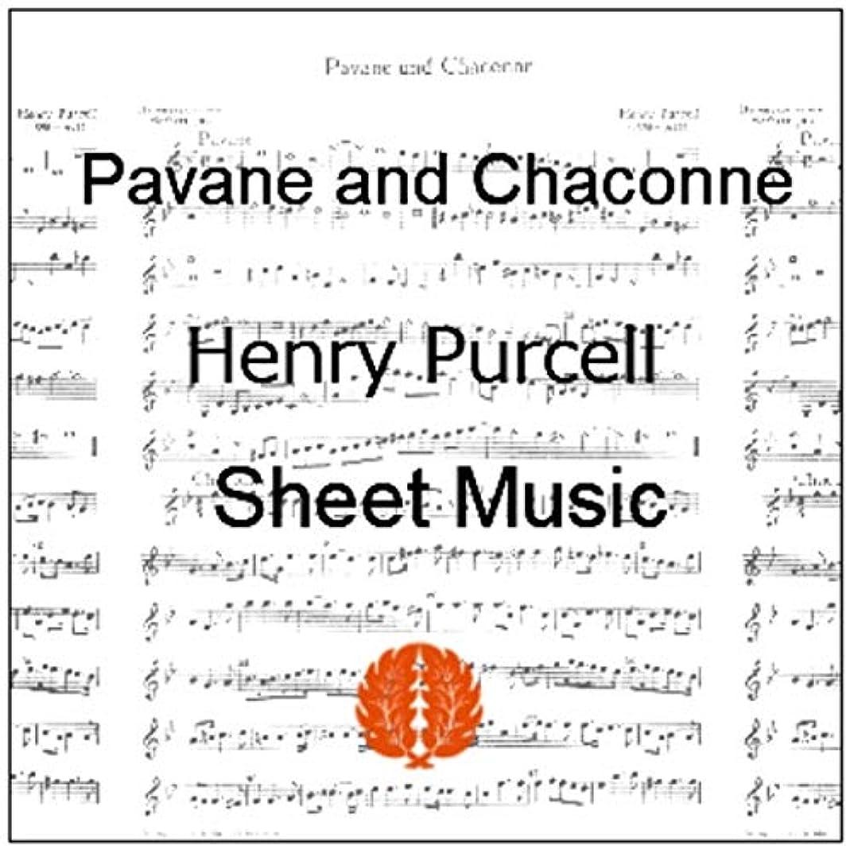 彼納税者固体楽譜 pdf ヘンリー?パーセル パヴァーヌとシャコンヌ パート譜セット ヴァイオリン3本  バス(チェロまたはピアノなど)