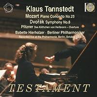 Mozart: Piano Concerto No,23; Dvorak: Symphony No.8;Pfitzner: Das Kathchen von Heilbronn, Overture