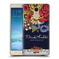 Official Frida Kahlo ブルーム レッド・フローラル ハードバックケース Xiaomi Redmi Note 3