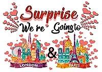 We're Going to London and Paris パズル 30ピース ウェディング ハネムーン アニバーサリー トラベル パズル 発表 フランス ヨーロッパ