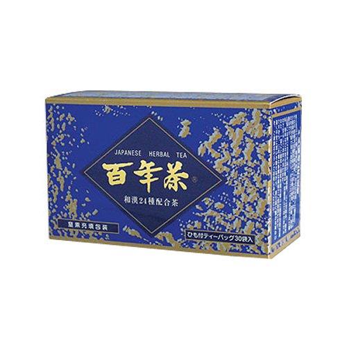 精茶百年本舗 百年茶青箱インスタント 1.6g×30包