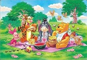80ピース 子供向けパズル ディズニー みんなでピクニック 【チャイルドパズル】