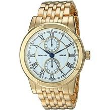 Geoffrey Beene Men's Quartz Metal and Alloy Dress Watch, Color:Gold-Toned (Model: GB8154GD)